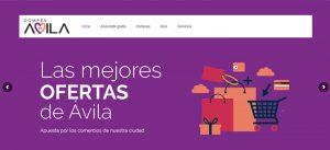 Captura de la web Compra en Ávila